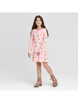 G Sleeve Dress - Cat & Jack Pink
