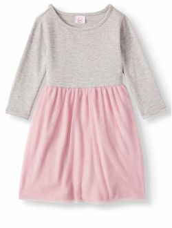 Long Sleeve Tutu Dress (toddler Girls)