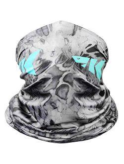 KastKing Sol Armis Neck Gaiter - UPF 50 Face Mask - UV Sun Protection Gaiter Sun Mask for Men & Women, Face Shield for Fishing, Hiking, Kayaking Mask, Prym1 Camo