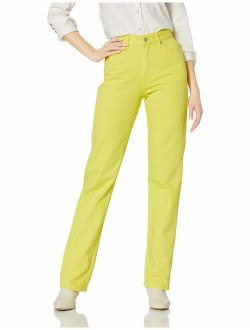 Women's High Rise Straight Fit Jeans