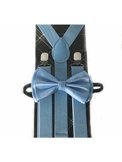 4everstore Unisex's Bow tie & Suspender Sets