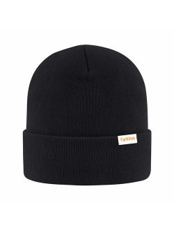 FanVince Casual Beanie Acrylic Knit Winter Hats Warm Gifts for Men and Women
