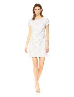 Women's Scuba Crepe Two Pocket Dress