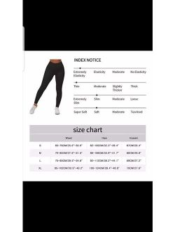 Women's High Waist Yoga Pants Tummy Control Workout Ruched Butt Lifting Stretchy Leggings Textured Booty Tights