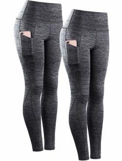 Neleus Women's Yoga Pant Running Workout Leggings with Pocket Tummy Control High Waist