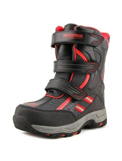 Weatherproof Kody Youth Round Toe Synthetic Black Snow Boot
