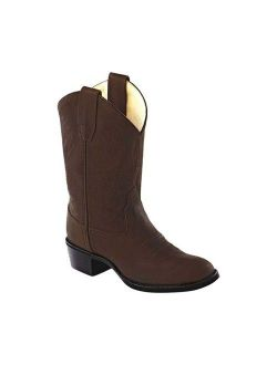 Old West Youth's Round Toe Boots