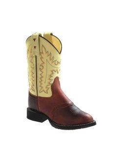 Old West Children's Round Toe Comfort Wear Boots