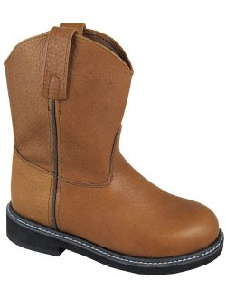 Smoky Mountain Boots Children Boys Jackson Brown Leather Cowboy Welly 1.5 D