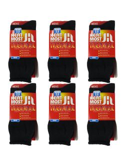 Thermal Warm Socks For Men 6 Pairs Insulated Heated Socks Boot Socks For Extreme Temperatures By DEBRA WEITZNER