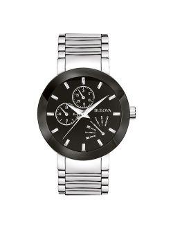 Men's Stainless Steel Dress Watch 96c105
