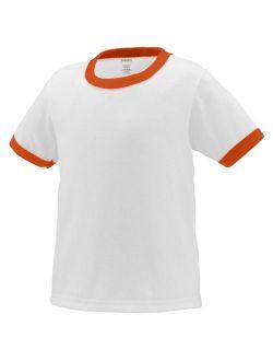 712 Ringer T-shirt - Toddler WHITE/ORANGE 4T