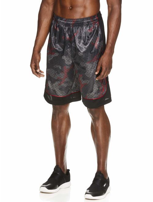 AND1 Men's All Courts Colorblock Short, up to 5XL