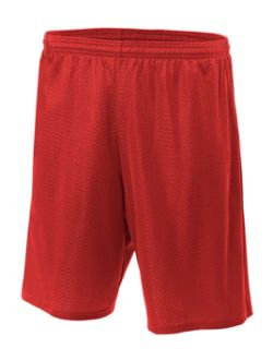 A4 Lined Tricot Mesh Short N5296