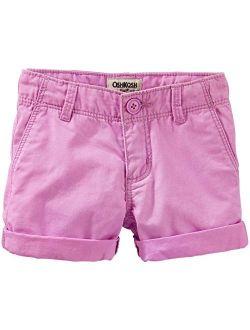 Little Girls' Woven Short 31040417, Purple, 4-kids