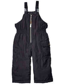 Carter's Toddler Girls Snow Bib Pants Warm Winter Overall Ski Pants Black Size 3T
