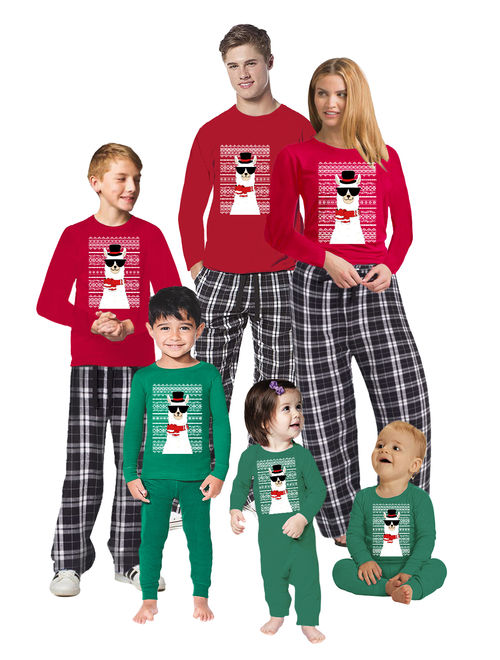 Awkward Styles Christmas Pajamas for Family Funny Xmas Llama Matching Christmas Sleepwear Christmas Pajamas for Women Men Kids Baby