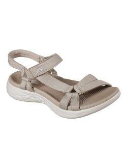 Skechers On The Go 600 Brilliancy Ankle Strap Sandal