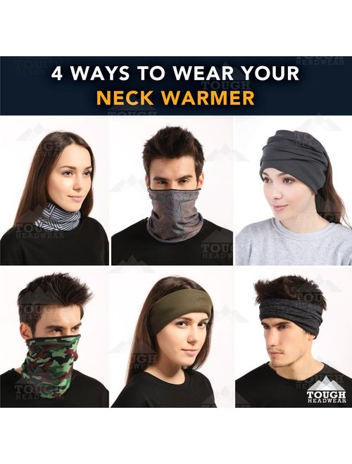 Warmer Winter Fleece Neck Gaiter Skiing Tube Scarf Snowboard Thermal Face Cover