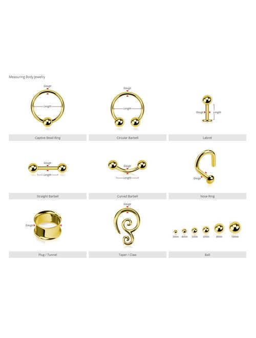 Hinged Seamless WildKlass Jewely Septum Clicker Ring 316L Surgical Steel Sold Individually