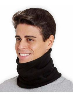 Neck Warmer - Winter Fleece Neck Gaiter & Ski Tube Scarf for Men & Women - Cold Weather Face Cover, Mask & Shield for Running, Skiing, Snowboarding - Ultimate Comfort, Th