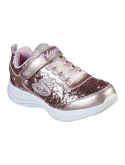Kechers S Lights Glimmer Kicks Glitter N' Glow Sneaker