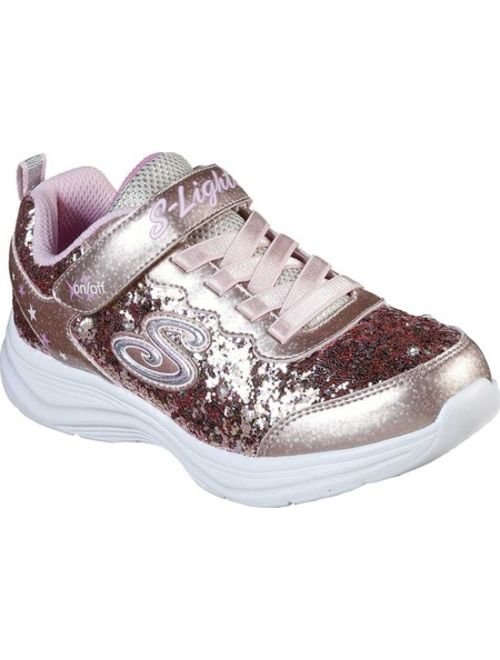 Girls' Skechers S Lights Glimmer Kicks Glitter N' Glow Sneaker