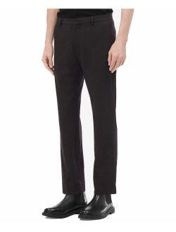 Men's Slim-fit Seersucker Plaid Pants