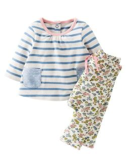 Fiream Toddler Girls Clothing Sets Dresses and Leggings 2 Packs Outfits