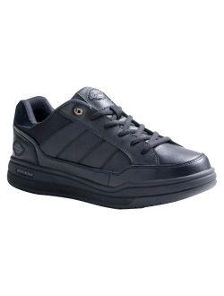 ® Men's Athletic Skate Leather Sneakers - Black