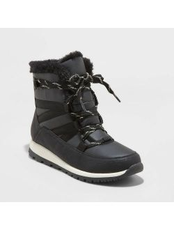 Ylon Sport Bottom Winter Boots - Universal Thread™ Black