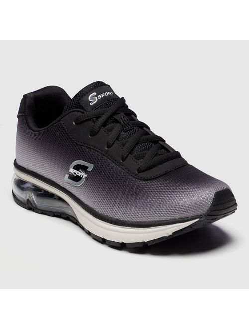 Women's S Sport by Skechers Vevina Lace Up Sneakers - Black