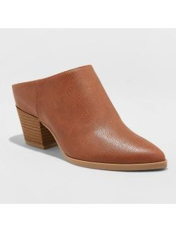 Aux Leather Heeled Mule - Universal Thread™