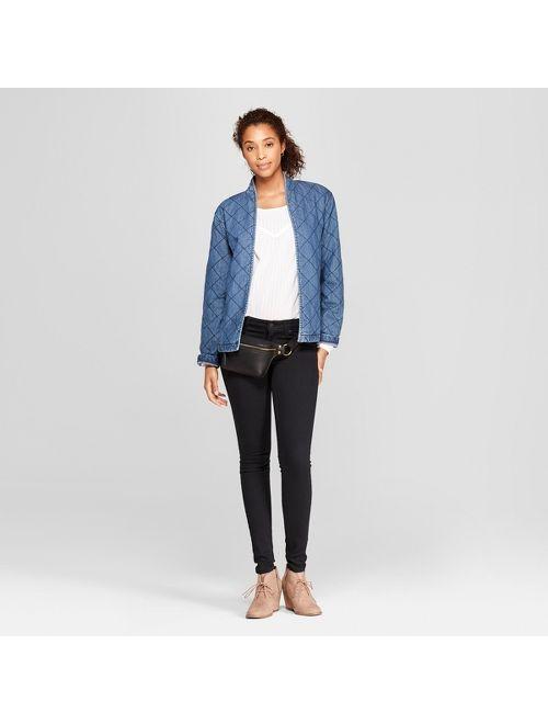 Women's Bessie Microsuede Wedge Fashion Bootie - Universal Thread™