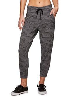Active Women's Camo Print Lightweight Jogger Sweatpants With Pockets