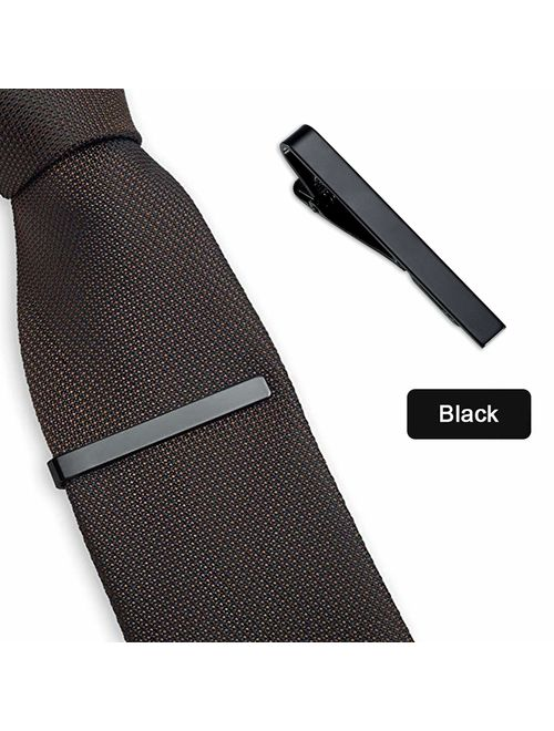 Viaky Classic Style Men's Tie Clips, Neck Ties Necktie Bar Pinch Clip with  Gold Silver Black 3 Tone, Best Gifts for Your Father, Lover and Friends in  Xmas, Anniversary, W | Topofstyle