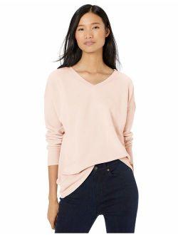 Goodthreads Womens Modal Fleece High-Low Sweatshirt