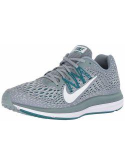 Women's Air Zoom Winflo 5 Running Shoe, Black/anthracite, 6.5