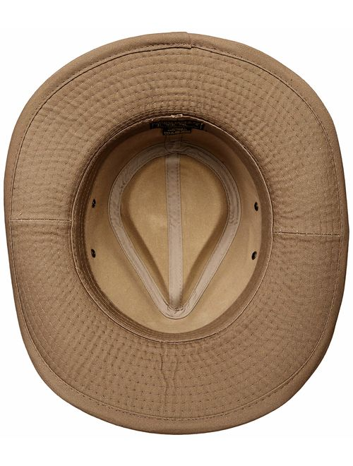 Dorfman Pacific Men's Twill Outback Hat