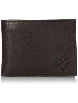 Men's Leather Extra Capacity Slimfold Wallet