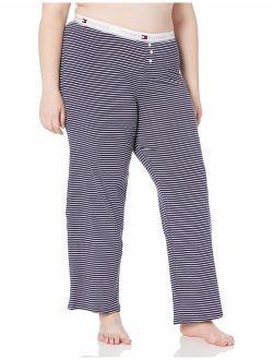 Women's Logo Bottom Lounge Pajama Pant Pj