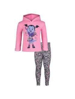 Vampirina Toddler Girls' Fleece Hoodie & Leggings Clothing Set