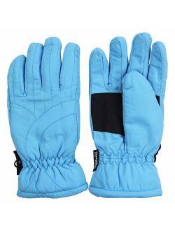 Womens/Girls Warm Winter Waterproof Thinsulate Snow Gloves