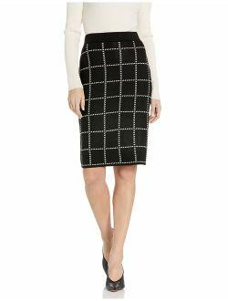 Women's Pencil Sweater Skirt