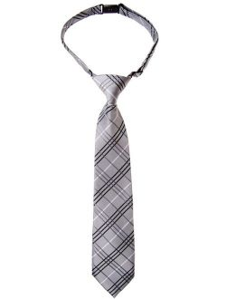 Retreez Woven Pre-tied Boys Tie with Stripe Textured Various Colors