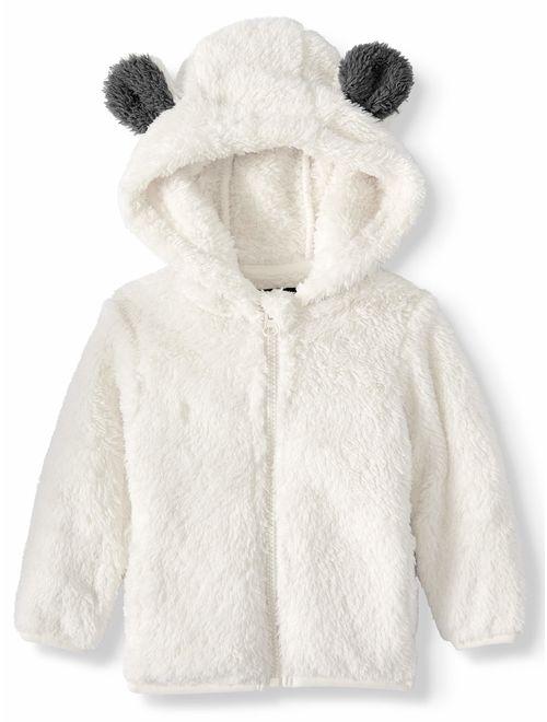Iceburg Baby Toddler Girl or Boy Unisex Beary Sherpa Fleece Jacket