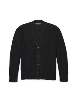 Women's Adaptive Cardigan Sweater With Magnetic Buttons