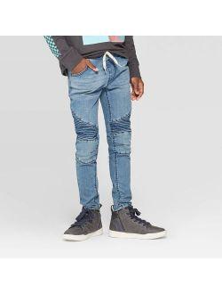 Boys' Super Skinny Pull on Jeans - art class Blue