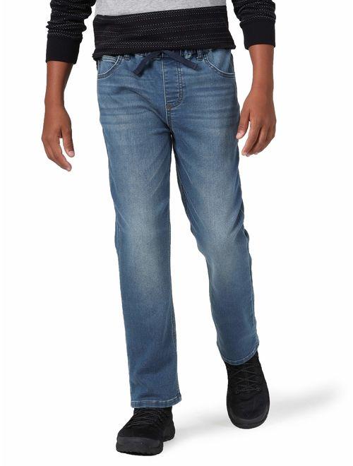 Wrangler Knit Denim Jogger Jeans (Little Boys, Big Boys, Slim, & Husky)