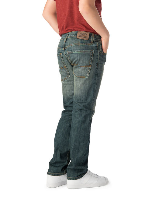 Signature by Levi Strauss & Co. Boys 5-18 S31 Slim Straight Jeans